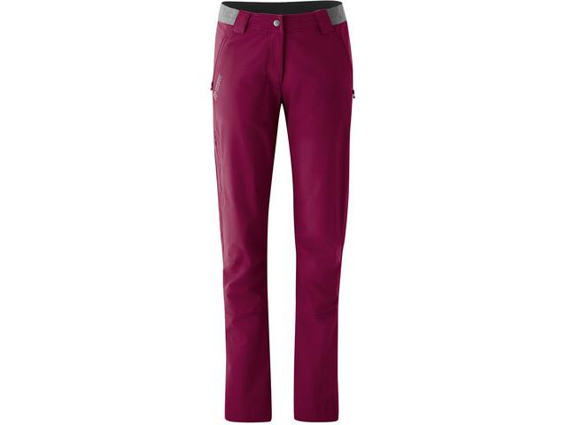 Maier Sports Norit 2.0 Pantalon Femme, red plum